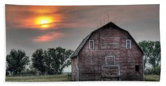 Sunset Barn Bath Towel