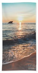 Sunset Beach - Cape May Hand Towel