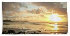 Sunset Beach Delight Hand Towel