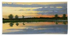 Sunset Ben Jack Pond Bath Towel