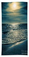 Sunset Bowman Beach Sanibel Florida Bath Towel