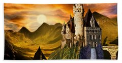 Sunset Castle Bath Towel