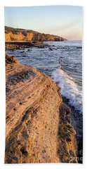 Sunset Cliffs, San Diego, California  -74706 Bath Towel