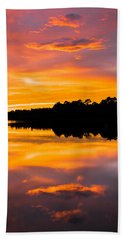 Sunset Colors Hand Towel