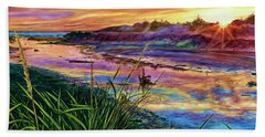 Sunset Creation Hand Towel