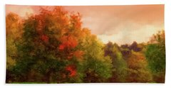 Sunset Field Hand Towel