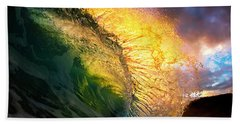 Sunset Flare Bath Towel