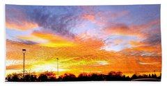 Sunset Forecast Hand Towel
