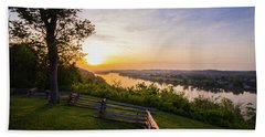 Sunset From Boreman Park Hand Towel