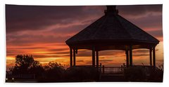 Sunset Gazebo Lavallette New Jersey Hand Towel