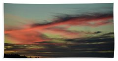 Bath Towel featuring the photograph Sunset Home 2 by Ronda Broatch