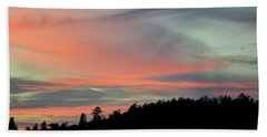 Bath Towel featuring the photograph Sunset Home 3 by Ronda Broatch