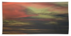 Bath Towel featuring the photograph Sunset Home by Ronda Broatch