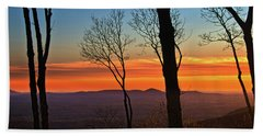 Sunset Hues Hand Towel