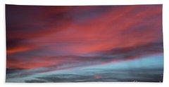 Sunset In Capital Reef  Bath Towel