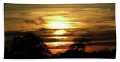 Sunset In Carolina Bath Towel