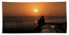 Sunset In Cerritos Bath Towel