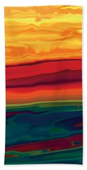 Sunset In Ottawa Valley 1 Hand Towel by Rabi Khan
