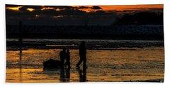 Sunset In Port Colborne Hand Towel