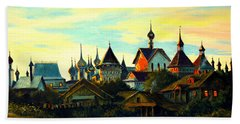 Sunset In Rostov Hand Towel