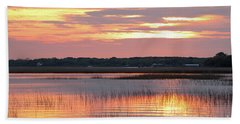 Sunset In South Carolina Hand Towel