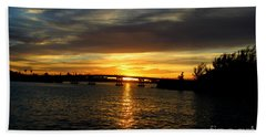 Sunset  In The Bermuda Triangle Hand Towel