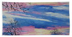 Sunset In The Country Bath Towel
