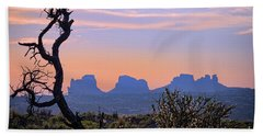 Sunset In Utah Hand Towel