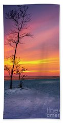 Sunset Light Hand Towel
