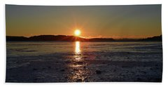 Sunset Bath Towel