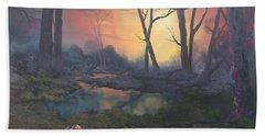 Sunset On Cannock Chase  Bath Towel