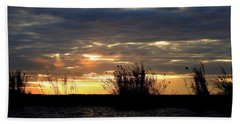 Hand Towel featuring the photograph Sunset On Chobe River by Betty-Anne McDonald