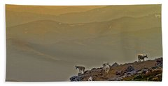Hand Towel featuring the photograph Sunset On The Edge by Scott Mahon
