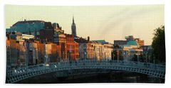 Sunset On The Ha'penny Hand Towel