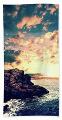 Sunset On The Horizon Hand Towel