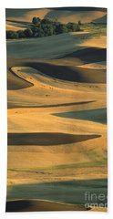 Sunset On The Palouse Bath Towel