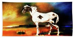 Sunset On The Plains Hand Towel