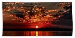 Sunset On The Zambezi Bath Towel