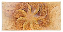 Sunset Orchids Hand Towel