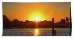 Sunset Over Hains Point Hand Towel