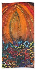 Sunset Over Key West Hand Towel