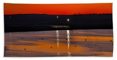 Bath Towel featuring the photograph Sunset Over Lake Texoma by Diana Mary Sharpton