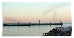 Sunset Over The Chesapeake Bay Hand Towel