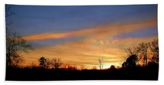 Sunset Over The Sabine 02 Hand Towel
