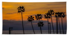 Sunset Palms Hand Towel