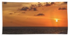Sunset Panama City Florida Bath Towel