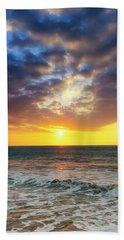 Sunset Panorama Bath Towel