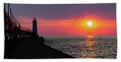 Sunset Panorama Hand Towel