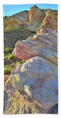 Sunset Pastels In Valley Of Fire Bath Towel