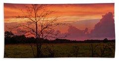 Sunset Pasture Hand Towel